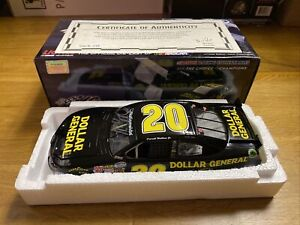 2012 #20 DARRELL BUBBA WALLACE JR Dollar General 1/24 Autographed XRARE 1/696