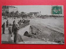 CANNES  :  La Promenade de la Croisette........VO.1913.
