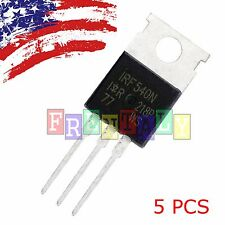 "5 x IRF540N IRF540 ""IR"" MOSFET N-Channel 33A 100V US SHIP"
