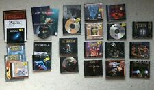 + 18x PC CD ROM GAME KONVOLUT + ZORK HEXEN CYBERIA WING COMMANDER LANDS OF LORE