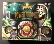 Legacy Mighty Morphing Power Ranger Green Ranger White Ranger Morpher Diecast
