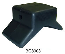 "MULTIFLEX Rubber 4"" Inch Bow Stop V Roller for 1/2"" Shaft Boat Trailer"