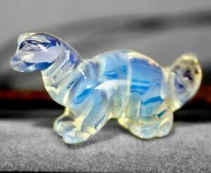 Baby Opalite Dinosaur Totem Figurine Diplodocus Spirit Animal Figurine 821