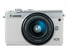 Canon EOS M100 Mirrorless Camera w/ 15-45mm Lens Wi-Fi, Bluetooth, and NFC Enabl