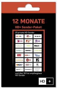 HD+ Verlängerung per Mail 12 Monate für HD01 HD02 HD03 HD04 Karte SAT Empfang