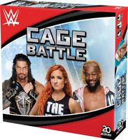 WWE Cage Battle Board Game WizKids NEW SEALED