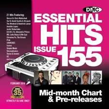 DMC Essential Hits 155 Chart Music DJ CD - Latest Releases of Radio Edit Tracks