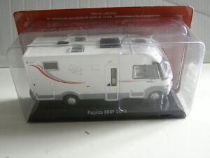 miniature 1/43 camping car FIAT RAPIDO 880F . 2014
