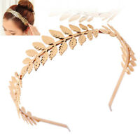 Women Hair Accessories Laurel Leaf Branch Headband Crown Leaves Hair Band Dz