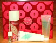 Elizabeth Arden Green Tea 4 Pcs Set W/ 3.3oz. Eau Parfum For Women New In Box