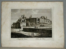 1818c.Inc/Rame.ROMA: PALAZZO DEI CESARI. par NIBBY - Parboni-Ruga.