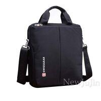 "13"" Briefcase Swiss Gear Men Women Laptop Messenger Shoulder Bag Daypack Nylon"