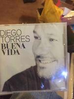 Diego Torres - Buena Vida 2015 USA CD Sealed NEW Latin Pop #P01