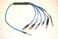 "SWISS KNIFE OF TIME CODE CABLES 2 5PIN LEMO 2 BNC 1 1/4"" 1 3.5mm 1 MINI LEMO 4"