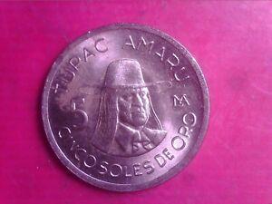 PERU 5 SOLES DE ORO 1976 MAY08
