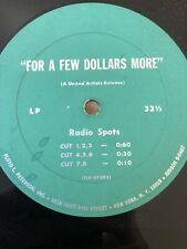 Rare! For A Few Dollars More Radio Ads Record Lp Clint Eastwood Flp 67203 United