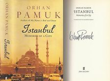 Orhan Pamuk - Istanbul - Memories of a City - Signed - 1st/1st