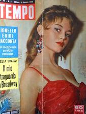 TEMPO n°2 1958 copertina Brigitte Bardot  [C82]