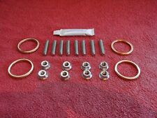 Yamaha R1 1998-2019 Stainless Steel Exhaust Studs,nuts & gaskets.With grease