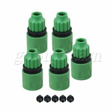 5 pcs Garden Water Hose Quick Connector Micro Irrigation Adapter Connector