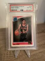 2018-19 Panini Donruss #198 Trae Young Rated Rookie RC - Hawks - PSA 10 Gem Mint