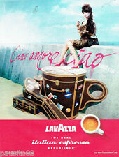 PUBLICITE ADVERTISING 056  2010  le café Lavazza  esspresso *