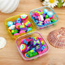 Cute Boxed Rainbow Eraser Rubber Eraser Kid Gift School Stationery Supply