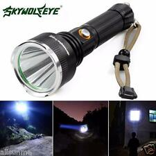 Sky Wolf 5Modes 5000 LM Power CREE XM-L T6 LED Flashlight 18650 Torch Flashlight