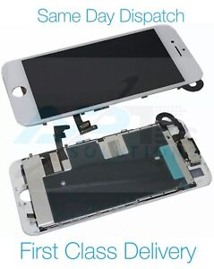 iPhone 8 Plus Screen LCD Display White Assembly With Camera Speaker And Adhesive
