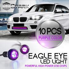 Eagle Eye 18mm 5730SMD High Power PURPLE LED Fog Light DRL Backup Signal - 10PCS