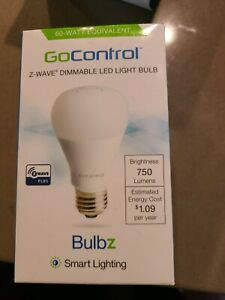 LINEARLINC BULBZ SECURITY LINEAR LB60Z-1 Z-WAVE DIMMABLE LED LIGHT BULB