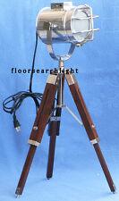 Nautical Marine Studio Table Lamp Spotlight W Tripod Stand - Searchlight Lamp