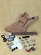 E1958  Electric Guitar DIY Kit,Complete No-Soldering,Mahogany Body