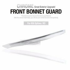 Chrome Hood Bug Shield Bonnet Wind Deflector for KIA 2011-15 Optima K5
