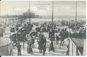 SCHEVENINGEN - Op Het  WANDELHOOFD - Postcard - Cartolina