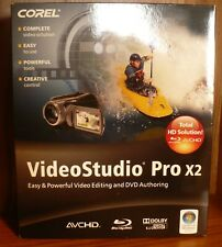 Corel VideoStudio Prox2 Video Editing & DVD Authoring Software 2009 CD Format