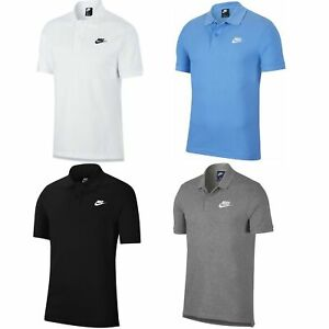 Nike Poloshirt T Shirt Hemd Herren Männer mit Knopfleiste 100% Baumwolle