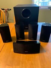 Onkyo Surround Sound Speakers with Subwoofer  391