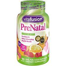 Vitafusion Prenatal Gummy Vitamins 90 Count