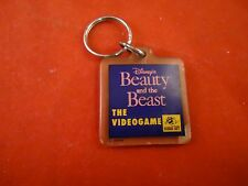 Beauty and the Beast Super Nintendo SNES Promotional Keychain Promo Hudson Soft