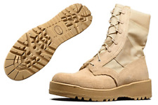Altama Hard Core Hot Weather Desert Steel Toe Army Combat Boots Mens 4.5W Wide