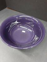 """FIESTA Fiestaware HLC Medium Vegetable Serving Bowl 9 1/2"""" PURPLE"""