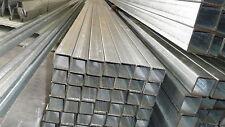 STEEL RHS GAL BOX SECTION 50X50X2.0MM (NEW) 8.0 MTR LENGTHS