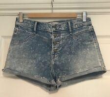 Hollister Denim Shorts, Size 7/w28