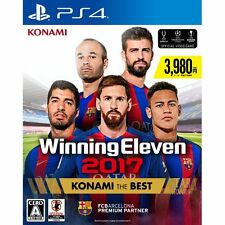 Winning Eleven 2017 SONY PS4 JAPANESE NEW JAPANZON