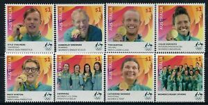 2016 Olympic Games Rio Gold Medallists Complete Set MNH