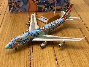 JFox Inflight 1/200 Qantas Boeing 747-300 Nalanji Dreaming Diecast Model Plane