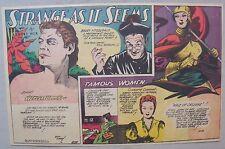 Strange As It Seems: Johnny Weissmuller as Tarzan, Joan of Arc from 6/24/1945