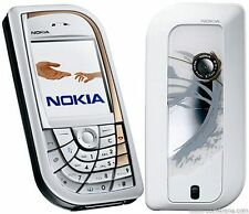 SIMPLE NOKIA 7610 MOBILE PHONE - UNLOCKED WITH A NEW HOUSE CHARGER AND WARRANTY.