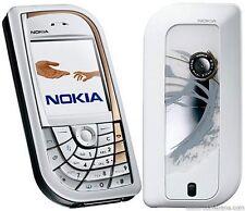 Simple teléfono móvil Nokia 7610-Desbloqueado con un nuevo cargador de casa y garantía.